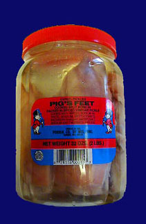 Porkies Pigs Feet in the Jar!